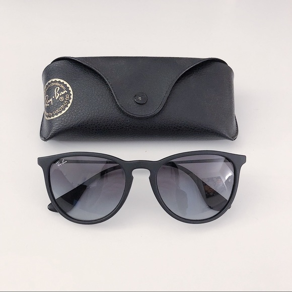 d602cf9b71d Ray-Ban Erika Sunglasses in Black Gray Gradient. M 5a97309c61ca1030bc3c72fa